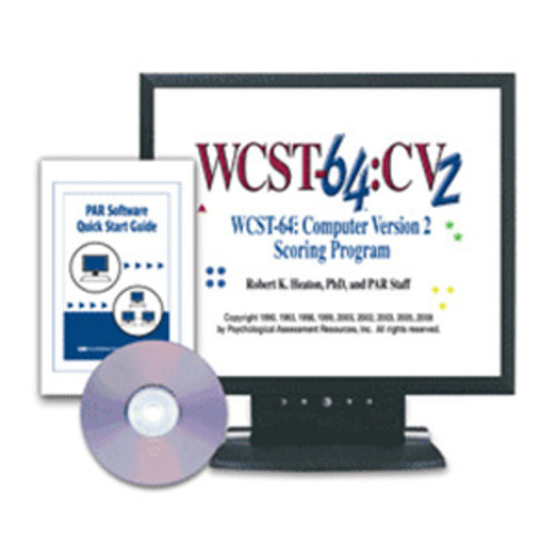 WCST-64™: Computer Version Scoring Program–Version 2 (WCST-64:SP2™)