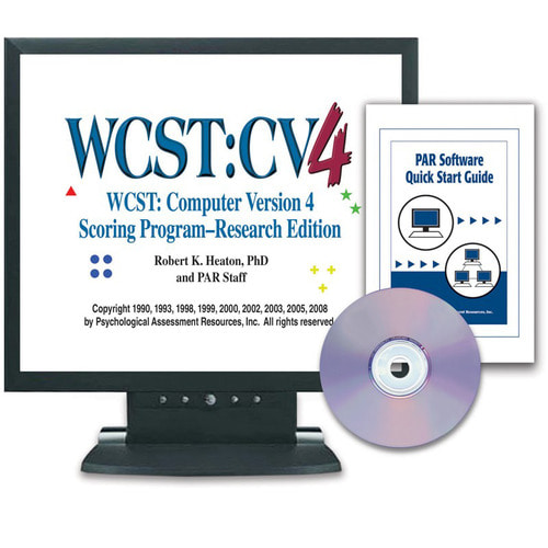 Wisconsin Card Sorting Test® Computer Version 4 (WCST:CV4™–CD-ROM)–Research Edition