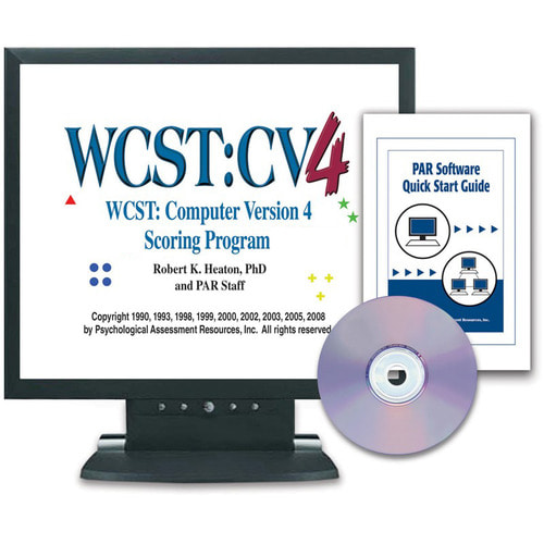 WCST:CV4 Scoring Program Kit–CD-ROM